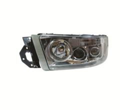 Renault Premium Version 2 (05-10) Version 3 (10 On) Headlight Silver Lens (4 Light Func) N/S